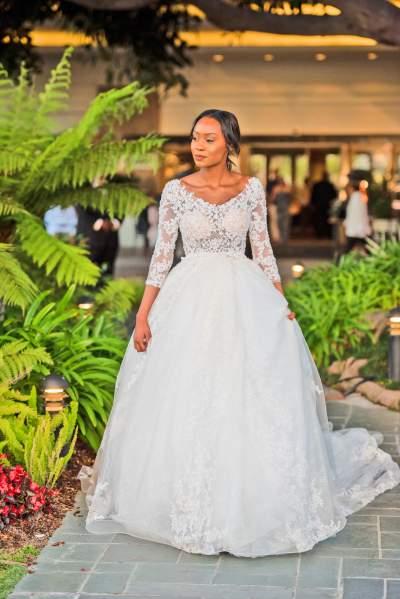Summer Wedding Dress Vibes